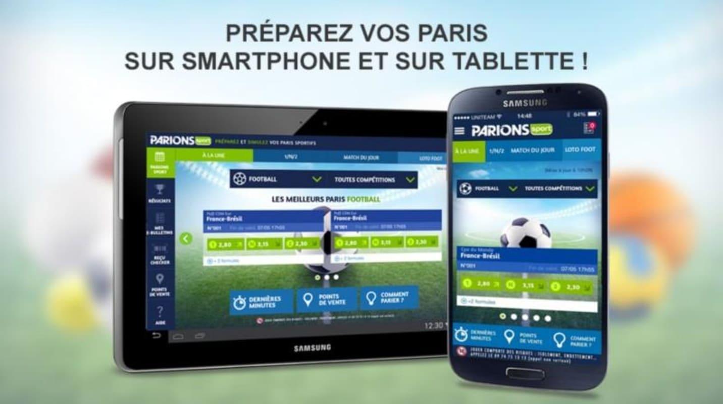 Parions Sport Application mobile