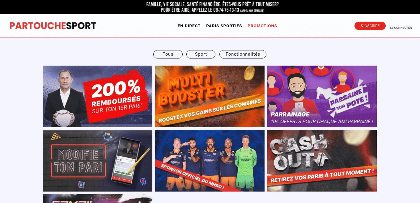 Partouche Sport Ergonomie Promotions